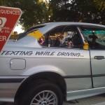 Araba Sürerken Textlemek