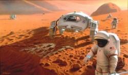 Mars Yolcuları İçin Menü