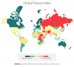 Dünyada Barış Giderek Azalıyor