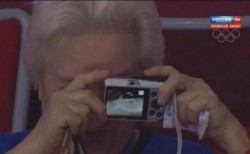 Socie olimpiyatlarinda selfie