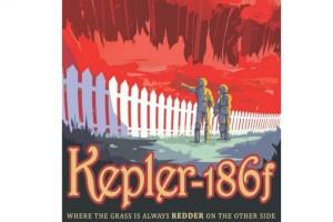 Kepler-186f gezegen temsili