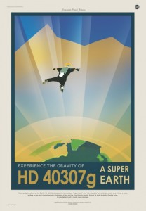 HD 40307g da gezegen temsili