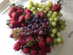 Meyve Dekorlu Sofralar