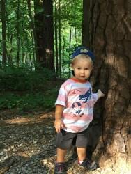 İki yaşında çevreci