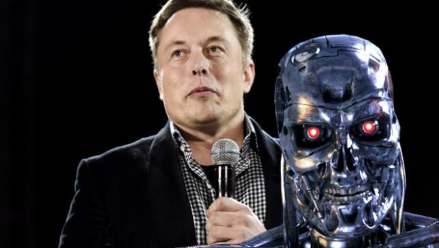elon musk ve robotlar